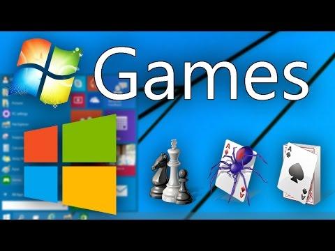 Get Windows 7 Games In Windows 8-10 (Updated!)