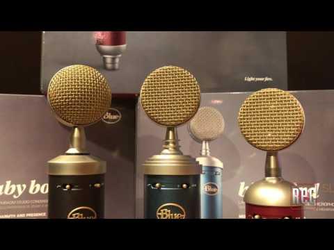 Recording Magazine comparison of the Blue SL Microphone Series