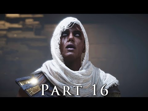 ASSASSIN'S CREED ORIGINS Walkthrough Gameplay Part 16 - Lizard's Mask (AC Origins)