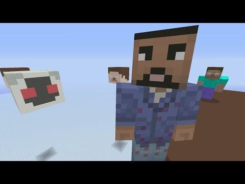 Minecraft Xbox - Herobrine VS Entity 303 - SkyWars