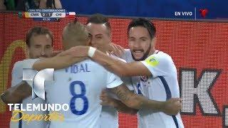 Gol de Chile anulado por videoarbitraje | Copa FIFA Confederaciones Rusia 2017 | Telemundo Deportes