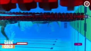 Margo Geer Wins Gold In 100m Freestyle  | Pan American Games Lima 2019