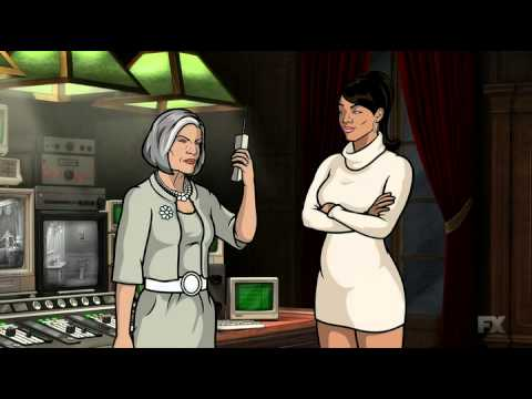 Archer fake crash voice mail...