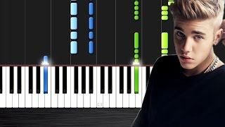 Dj Snake Ft. Justin Bieber Let Me Love You - Piano Cover Tutorial by PlutaX.mp3