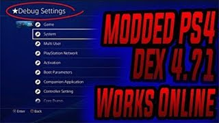 PS4 JailBreak 4.72 - PS4 Mods & Modding!