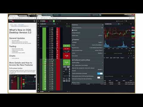 CQG Desktop 3 2 Brackets, Trailings, Icebergs, and FullScreen