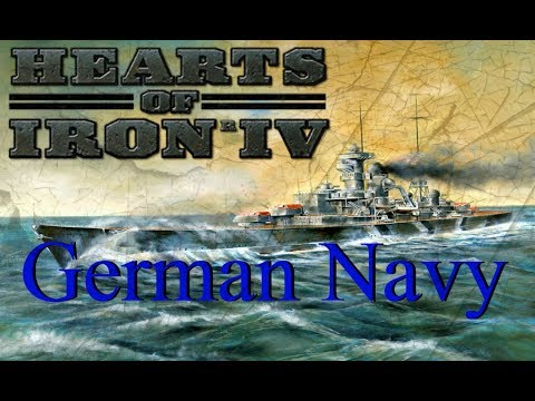 HOI4 Tutorial: Make Germany a Naval Power *In-Depth*