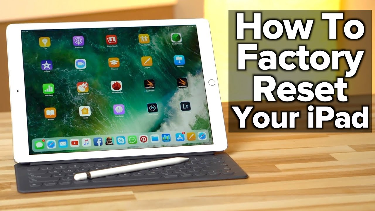 Video: How to backup, erase, and factory reset your iPad