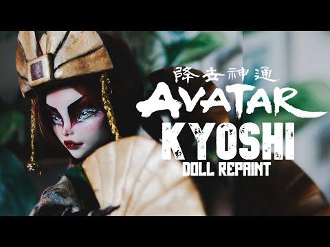 AVATAR KYOSHI | Last Airbender Doll Custom | Monster High OOAK | Etellan