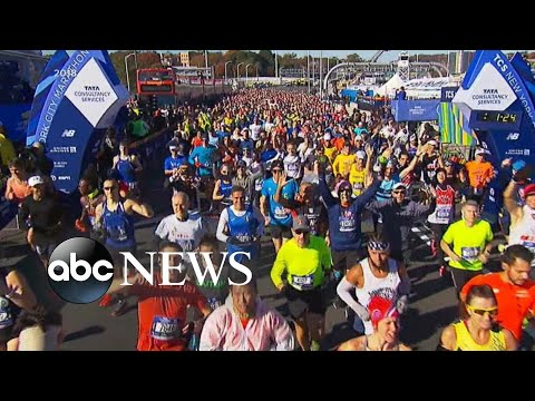 Fifty-thousand runners set to run in the New York City Marathon | ABC News