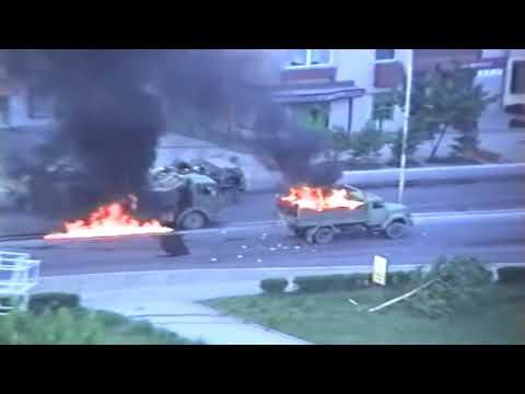 Так будет и с русскими в Украине, расстрел югославской военной колонны в Тузле  Босния, 15 мая 1992!