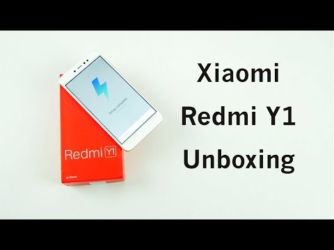 Xiaomi Redmi Y1 Unboxing and First Impressions