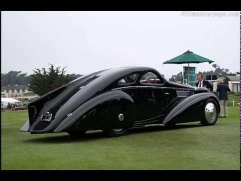 1925 Rolls Royce Jonckheere Phantom I Round Door Coupé