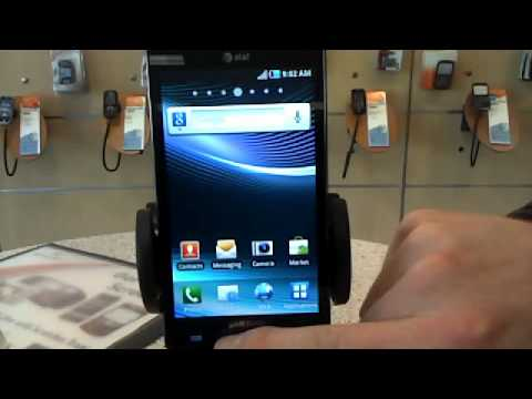 Android Fundamentals - Samsung Infuse 4G