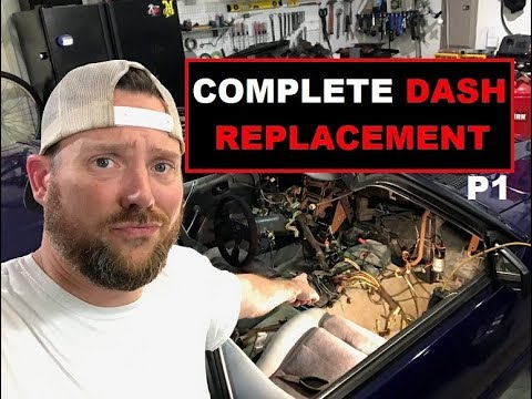 1986 Mustang GT Project - Complete Dash Assembly Replacement - PART 1