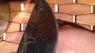 Нож VK-N1 финал изготовления и заточки. Бритье руки.(, 2014-04-23T05:24:10.000Z)