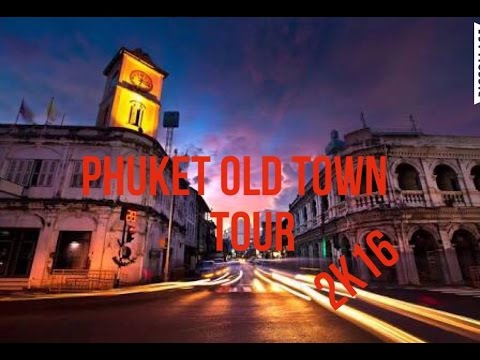 PHUKET OLD TOWN TOUR W/RUDY 2K16