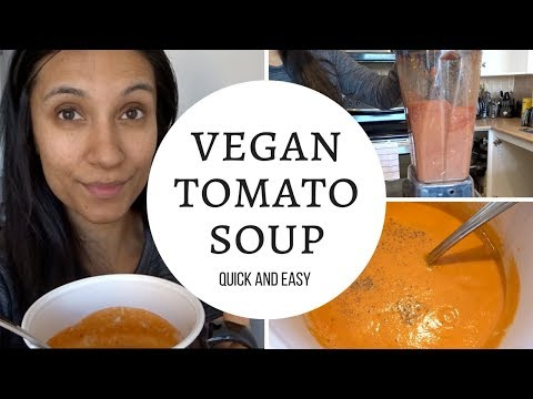 Vegan Tomato Soup in the Vitamix   Wellness Wednesday   MOM BOSS OF 3