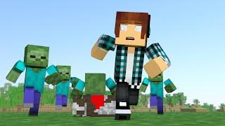 Minecraft Mod: Zumbis REALISTAS !! (Vire Um Zumbi e Animais Zumbis) - Zombie Infection Mod