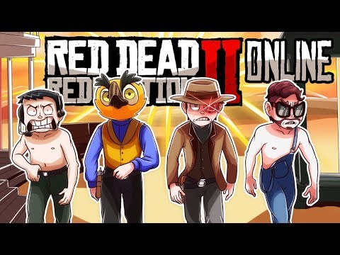 Ron Jeremy & THE BUBBLE BUTT BOTTOM BOYZ! (Red Dead Redemption 2 Funny Moments)