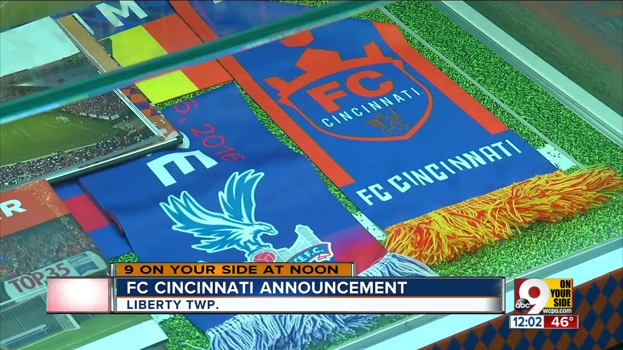 release date: b8ba3 46970 FC Cincinnati announces partnerships with Liberty Center, Mercy Health