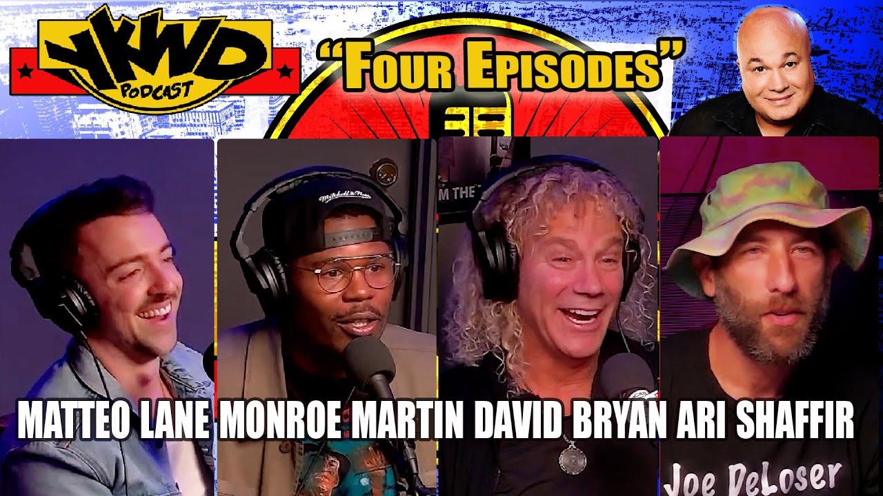 Download Ari Shaffir, David Bryan, Matteo Lane, Monroe Martin | YKWD #403  Four Episodes