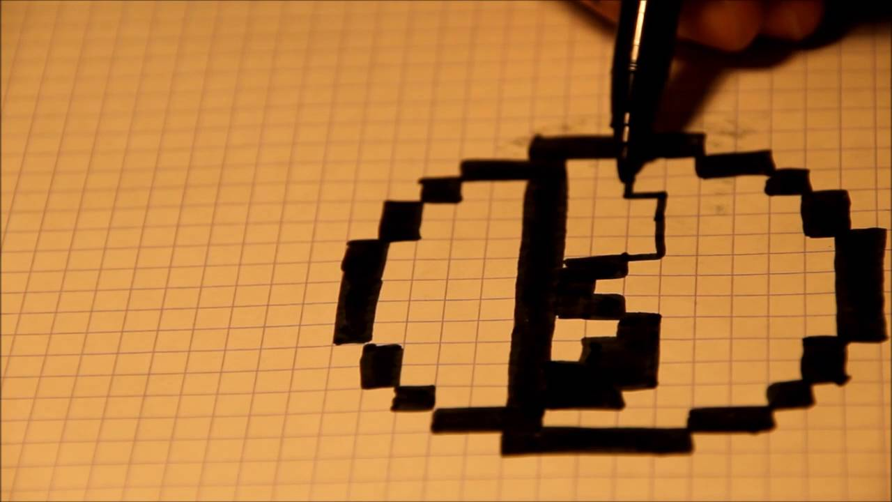 Comment dessiner un smiley en pixel art youtube - Smiley a dessiner ...