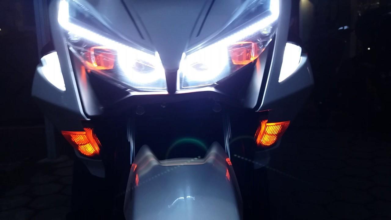 Yamaha Aerox Custom Headlamp