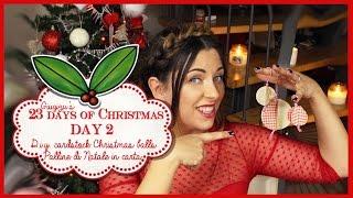 23 Days Of Christmas - Day 2 : D.i.y. Paper Xmas Balls , Decorazioni Natalizie Fai Da Te In Carta