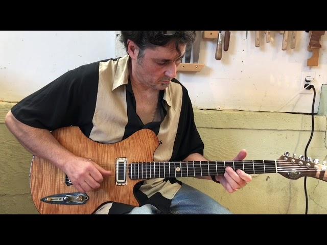 M-tone Guitars - Flight Risk 7 - country demo