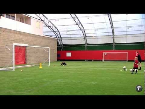 FIFA 12 Coaching Manual | Second Goalkeeping Session