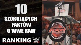 Ranking WWE: 10 szokujących ciekawostek o RAW!✔.
