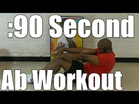 Killer 90 Second Ab Workout