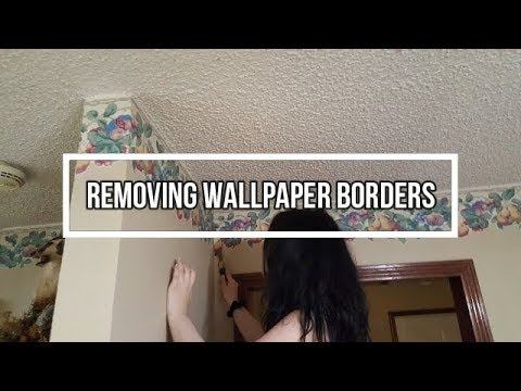 Best way to remove wallpaper border from wall