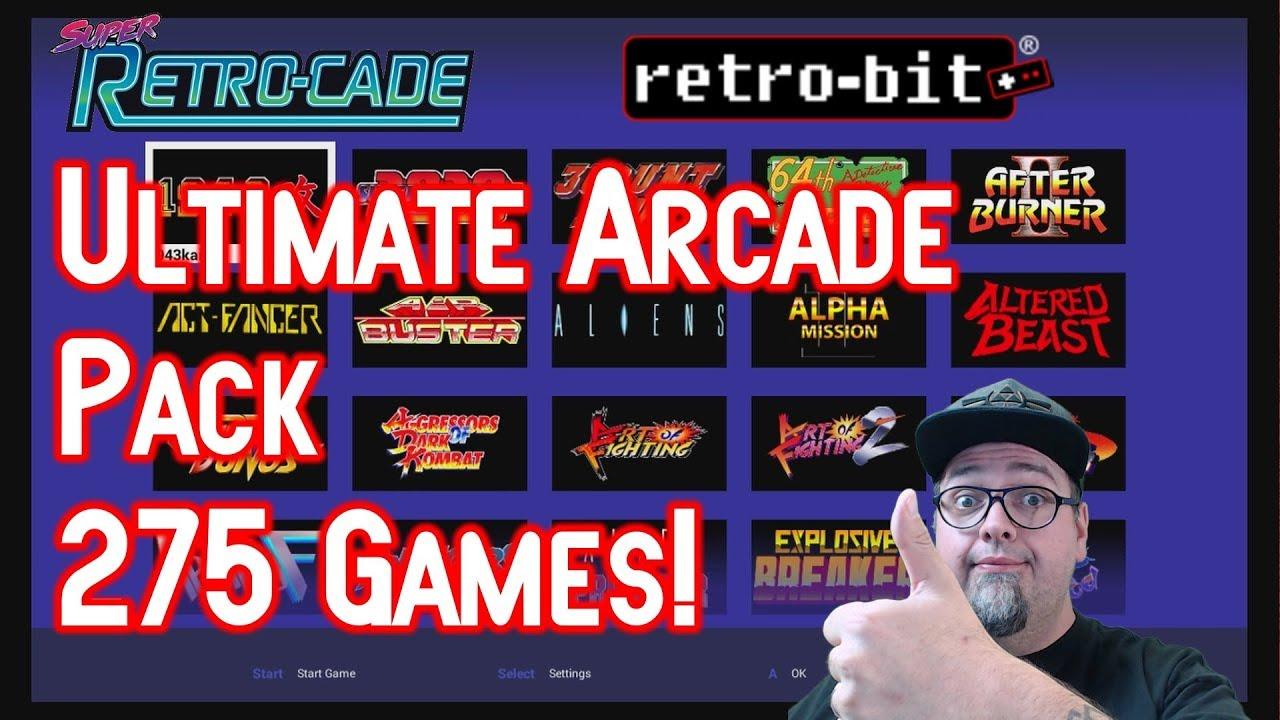Never Enough Time - Super Retro-Cade Arcade Pack 275 Games — MyVideo