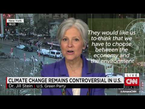 Jill Stein on Climate Change: A Green New Deal Will Save our Environment, Revive our Economy