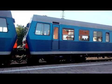 АЧ2 пригородный поезд Курск Льгов, Курская область