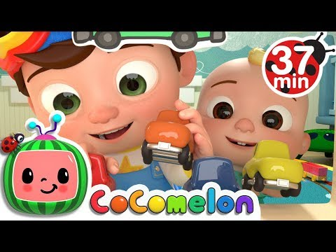 Clean Up Song  + More Nursery Rhymes & Kids Songs  ABCkidTV