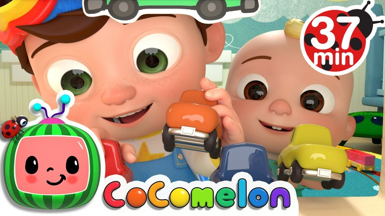 Clean Up Song | + More Nursery Rhymes & Kids Songs - ABCkidTV