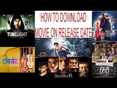 How to download movie on release date in...