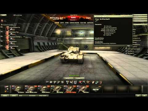 World of Tanks - M26 Pershing Tier 8 Medium Tank - Black Jac