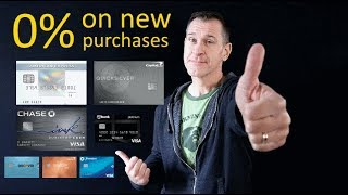 Best 0% Credit Cards (on New Purchases) 2020