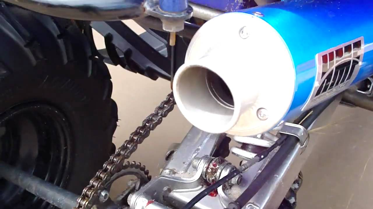 Yamaha Raptor  Hmf Exhaust