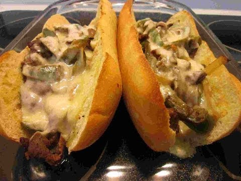 Cheese Steak Sandwich Recipe Video ~ My Town Philly Cheesesteaks