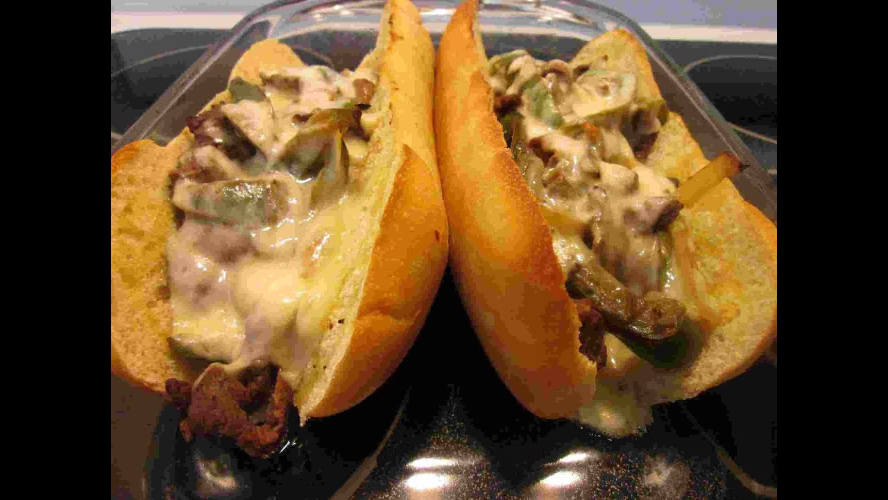 Cheese Steak Sandwich Recipe Video ~ My Town Philly Cheesesteaks ...
