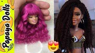 Barbie Doll Hair👸How To Make Barbie Hairstyles💇DIY Doll Hairstyles
