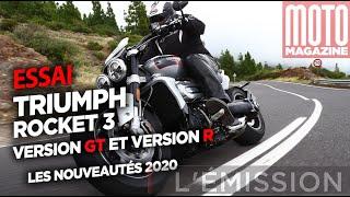 TRIUMPH ROCKET 3 GT et R - les grosses bêtes