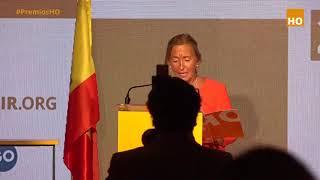 Victoria Arroyo VOLUNTARIA DE HAZTE OÍR recibe un RECONOCIMIENTO ESPECIAL en los Premios HO 2021