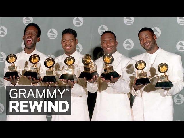 "Watch Boyz II Men Win A GRAMMY In 1995 For ""I'll Make Love To You"" | GRAMMY Rewind"
