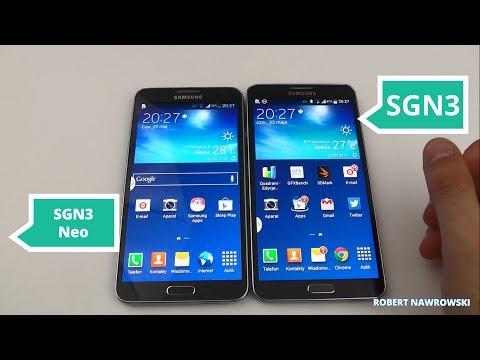 Samsung Galaxy Note 3 vs. Samsung Galaxy Note 3 Neo Porównanie | Robert Nawrowski
